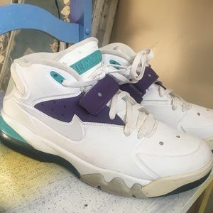 Nike Air Force Max  White and Grape
